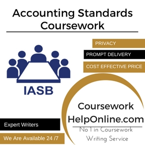 Accounting Standards Coursework Writing Service