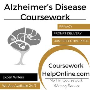 Alzheimer's Disease Coursework Writing Service