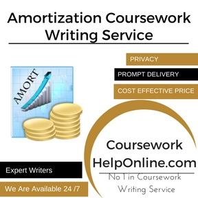 Amortization Coursework Writing Service