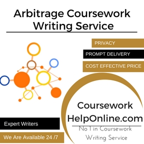 Arbitrage Coursework Writing Service