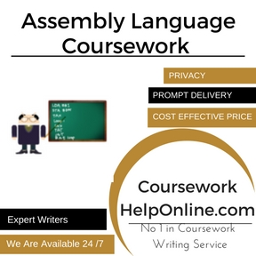 Assembly Language Coursework Writing Service