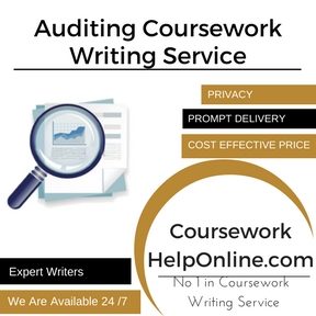 Auditing Coursework Writing Service