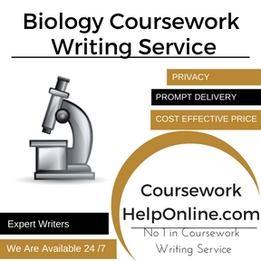 Biology Coursework Writing Service