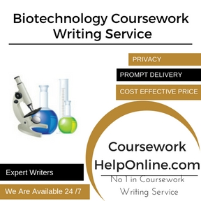 Biotechnology Coursework Writing Service