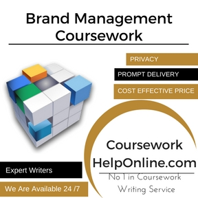 Brand Management Coursework Writing Service