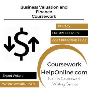 Business Valuation and Finance Coursework Writing Service