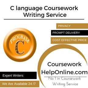 C language Coursework Writing Service