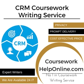 CRM Coursework Writing Service