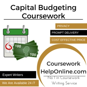 Capital Budgeting Coursework Writing Service