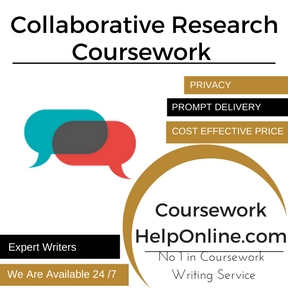 Collaborative Research Coursework Writing Service