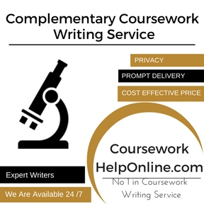 Complementary Coursework Writing Service