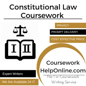 Constitutional Law Coursework Writing Service