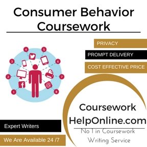 Consumer Behavior Coursework Writing Service