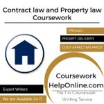 Contract law and Property law