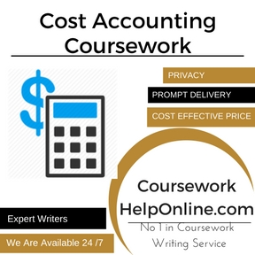 Cost Accounting Coursework Writing Service