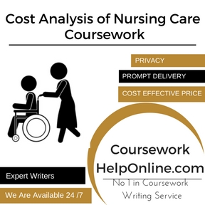 Cost Analysis of Nursing Care Coursework Writing Service