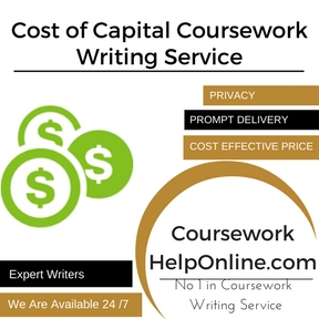 Cost of Capital Coursework Writing Service