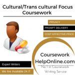 Cultural/Trans cultural Focus