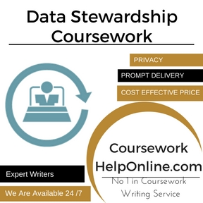 Data Stewardship Coursework Writing service