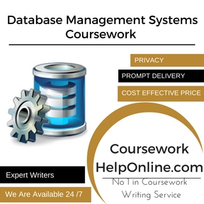 Database Management Systems Coursework Writing Service