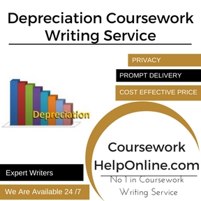 Depreciation Coursework Writing Service