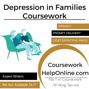 Depression in Families Coursework Writing Service