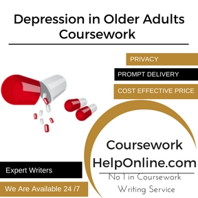 Depression in Older Adults Coursework Writing Service
