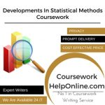 Developments In Statistical Methods