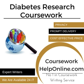 Diabetes Research Coursework Writing Service