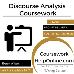 Discourse Analysis Coursework Writing Service