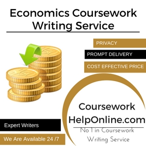 Economics Coursework Writing Service