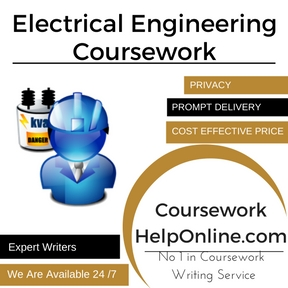 Electrical Engineering Coursework Writing Service
