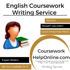 English Coursework Writing Service