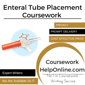 Enteral Tube Placement Coursework Writing Service