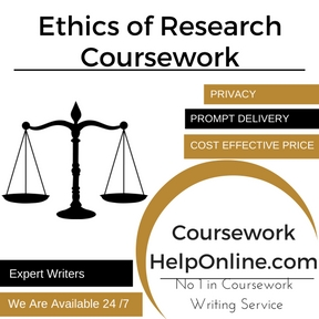 Ethics of Research Coursework Writing Service