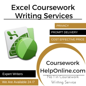 Excel Coursework Writing Services