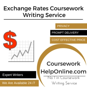Exchange Rates Coursework Writing Service