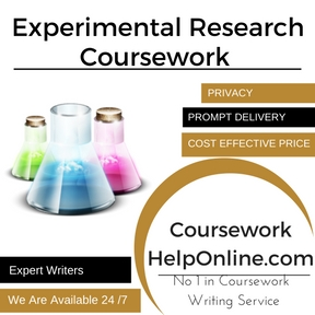 Experimental Research Coursework writing Service