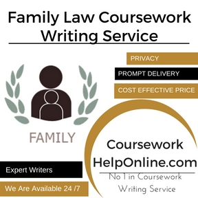 Family Law Coursework Writing Service