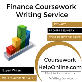 Finance Coursework Writing Service