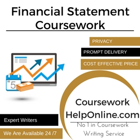Financial Statement Coursework Writing Service