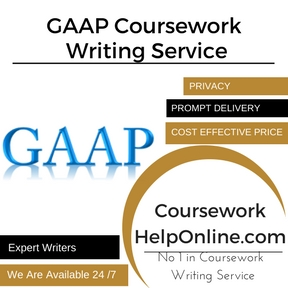 GAAP Coursework Writing Service