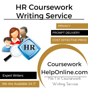 HR Coursework Writing Service
