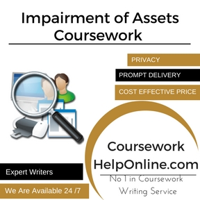 Impairment of Assets Coursework Writing Service