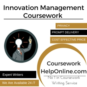 Innovation Management Coursework Writing Service