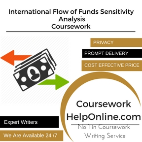 International Flow of Funds Sensitivity Analysis Coursework Writing Service
