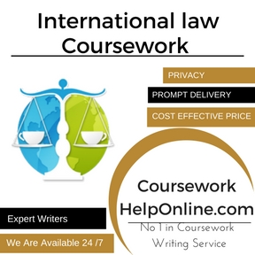 International law Coursework Service