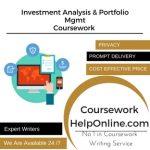 Investment Analysis & Portfolio Mgmt