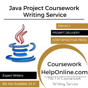 Java Project Coursework Writing Service