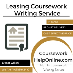 Leasing Coursework Writing Service